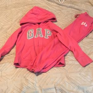 Girls Gap sweat outfit